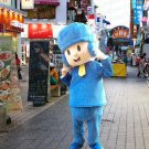 high quality pocoyo mascot costume adult size Halloween costume fancy dress free shipping
