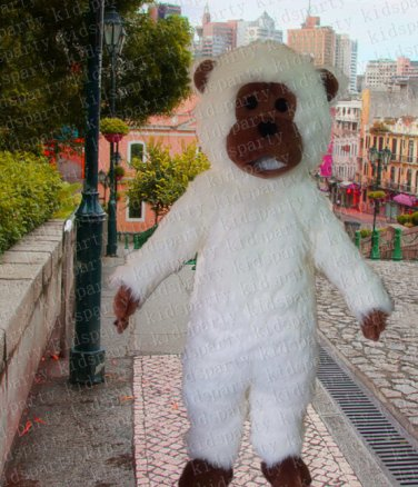 high quality Gorilla mascot costume adult size Halloween costume fancy dress free shipping