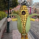 high quality corn mascot costume adult size Halloween costume fancy dress free shipping
