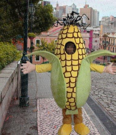 high quality corn mascot costume adult size Halloween costume fancy dress free shipping