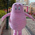 high quality BARBAPAPA mascot costume adult size Halloween costume fancy dress free shipping