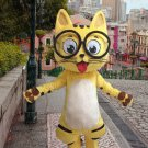 high quality cat mascot costume adult size Halloween costume fancy dress free shipping