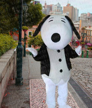 high quality dog mascot costume adult size Halloween costume fancy dress free shipping