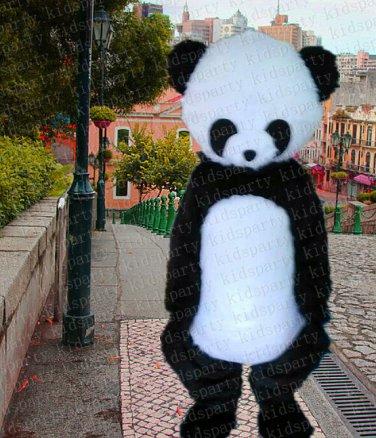 high quality panda mascot costume adult size Halloween costume fancy dress free shipping
