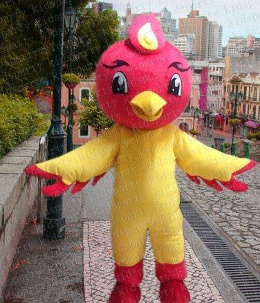 high quality bird mascot costume adult size Halloween costume fancy dress free shipping