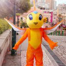 high quality fish dragon mascot costume adult size Halloween costume fancy dress free shipping