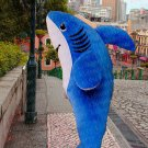 high quality blue fish mascot costume adult size Halloween costume fancy dress free shipping