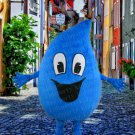 high quality water drop mascot costume adult size Halloween costume fancy dress free shipping