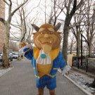 new beast mascot costume adult size Halloween costume fancy dress free shipping