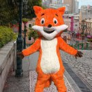 high quality fox mascot costume adult size Halloween costume fancy dress free shipping