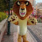 high quality lion mascot costume alex adult size Halloween costume fancy dress free shipping