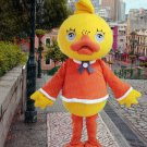 high quality duck mascot costume alex adult size Halloween costume fancy dress free shipping