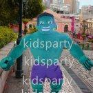 New hulk mascot costume alex adult size Halloween costume fancy dress free shipping