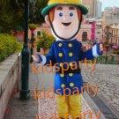 holiday costume fireman  mascot costume fancy party dress suit carnival costume fursuit mascot