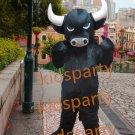 Black Bull mascot costume adult Ox Theme anime cosplay character fancy dress corporate school mascot