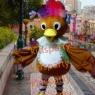 holiday ugly duckling mascot costume bird fancy party dress suit carnival costume fursuit mascot