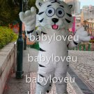 holiday white tiger mascot costume fancy party dress suit carnival costume fursuit mascot