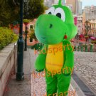 new green Dinosaur mascot costume bear fancy party dress suit carnival costume fursuit mascot