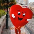 Red Heart  mascot costume bear fancy party dress suit carnival costume fursuit mascot