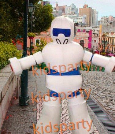 New robot mascot costume bear fancy party dress suit carnival costume fursuit mascot