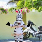 New zebra mascot costume fancy party dress suit carnival costume fursuit mascot