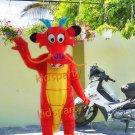 New dragon mascot costume fancy party dress suit carnival costume fursuit mascot