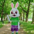 New rabbit mascot costume fancy party dress suit carnival costume fursuit mascot