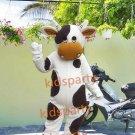 New milk cow mascot costume fancy party dress suit carnival costume fursuit mascot