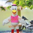 New crane mascot costume fancy party dress suit carnival costume fursuit mascot