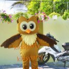 New Anime Costumes Champion Owl Mascot Costume Fancy Cartoon Character Owl Theme Mascotte Kits