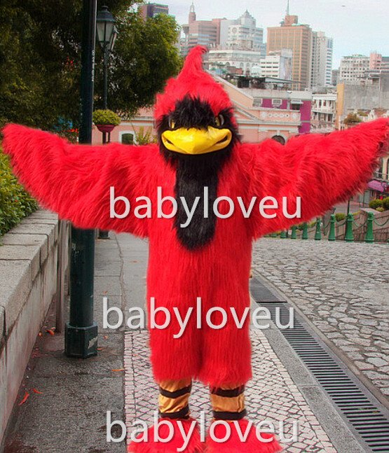 New red bird Cardinal mascot costume fancy costume cosplay fancy dress carnival costume