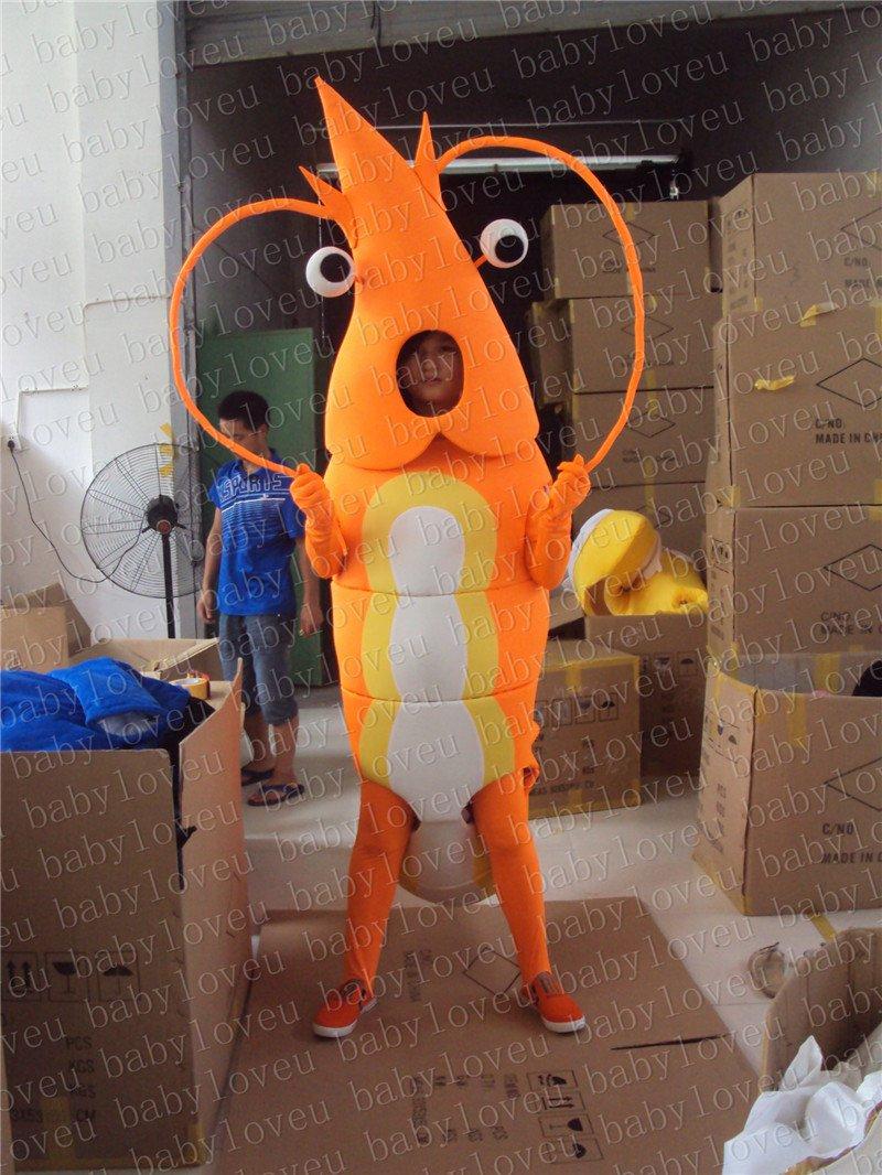 New shrimp mascot costume fancy costume cosplay fancy dress carnival costume