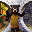 Hot Sale Christmas Brown Bear Cartoon Mascot Costume Animal Fancy Dress Outfit