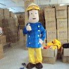 Hot Sale Fireman Cartoon Mascot Costume Animal Fancy Dress Outfit