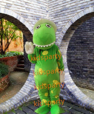 Hot Sale Dinosaur Cartoon Mascot Costume Animal Fancy Dress Outfit