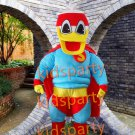 2016 new Real Pictures Deluxe Super duck Mascot Costume Adult sized factory direct,free shipping