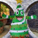 holiday shine tree mascot costumes Christmas tree costumes