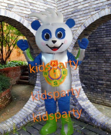 New happy bear Mascot Costumes Christmas Halloween Outfit Fancy Dress Suit Free Shipping