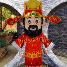 Happy Chinese new year mascot god of fortune mascot costume Halloween Free Shipping