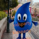 new high quality walking disguise dark blue water drop mascot costumes Free Shipping
