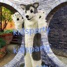 husky dog fursuit mascot costume Fancy Dress wolf fursuit Halloween party costume Carnival Costume