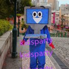 New computer mascot costume Fancy Dress Halloween party costume Carnival Costume