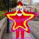 New red star mascot costume Fancy Dress Halloween party costume Carnival Costume