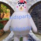 New white bear mascot costume Fancy Dress Halloween party costume Carnival Costume