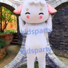 New white sheep mascot costume Fancy Dress Halloween party costume Carnival Costume