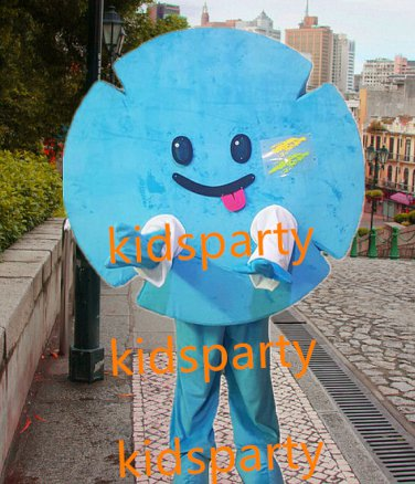 New Snowflake mascot costume Fancy Dress Halloween party costume Carnival Costume