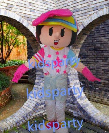 New star girl mascot costume Fancy Dress Halloween party costume Carnival Costume
