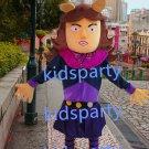 New girl monster mascot costume Fancy Dress Halloween party costume Carnival Costume