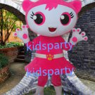 New cat mascot costume Fancy Dress Halloween party costume Carnival Costume