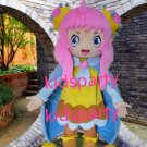 New girl mascot costume Fancy Dress Halloween party costume Carnival Costume